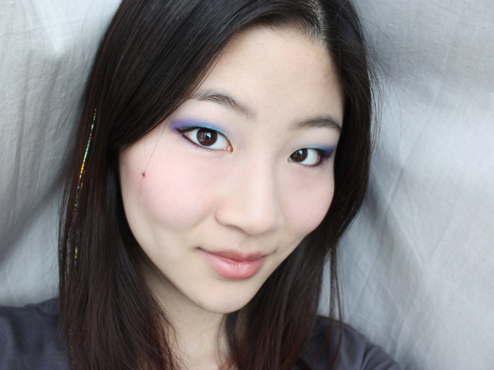 theNotice - A gilded cotton candy makeup look - theNotice