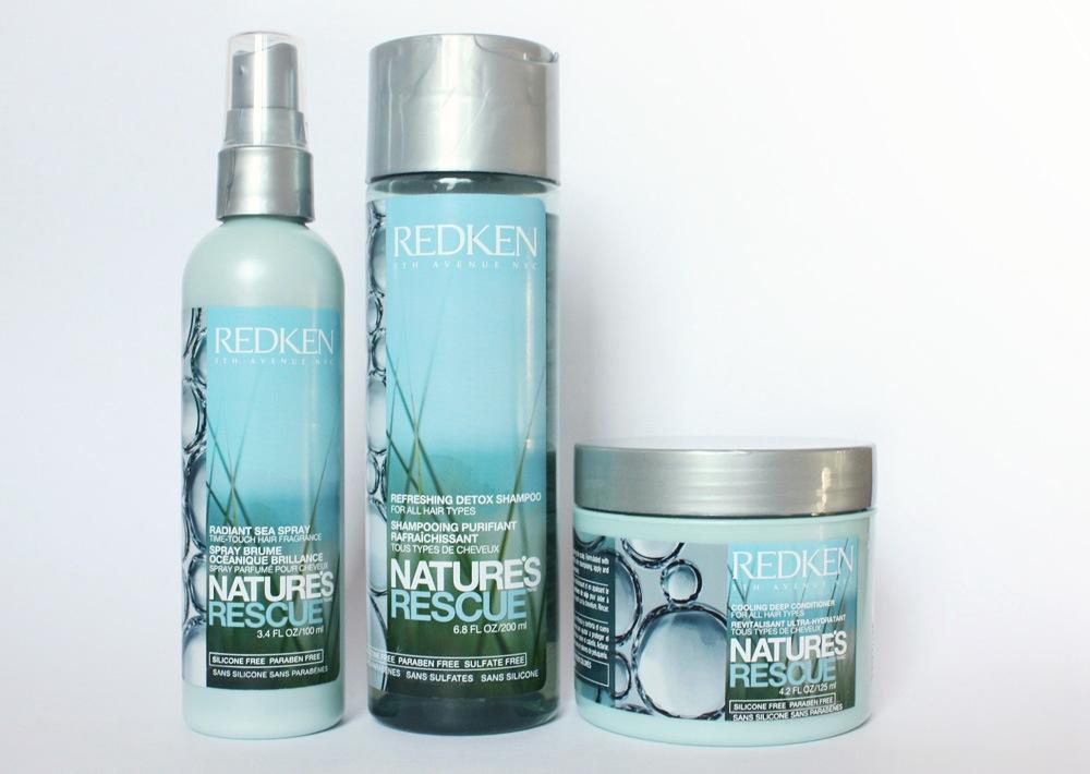 Redken Nature S Rescue Radiant Sea Spray