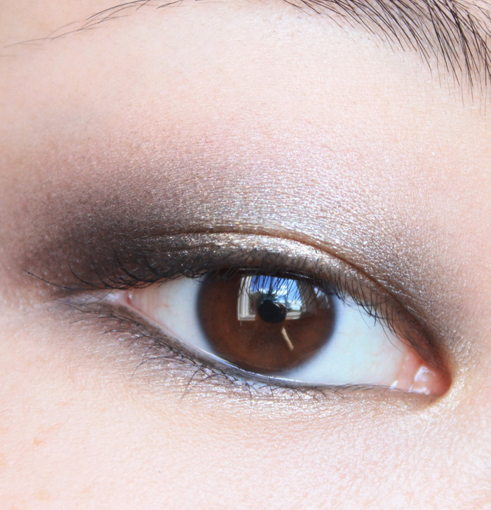Thenotice The Not Quite Chanel Fotd Gold And Black Smokey Eyes