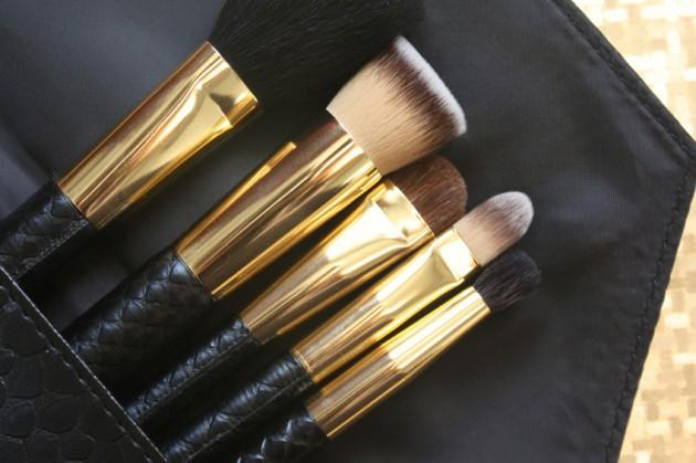Sephora Luxe face brush set - flat top foundation brush favourite