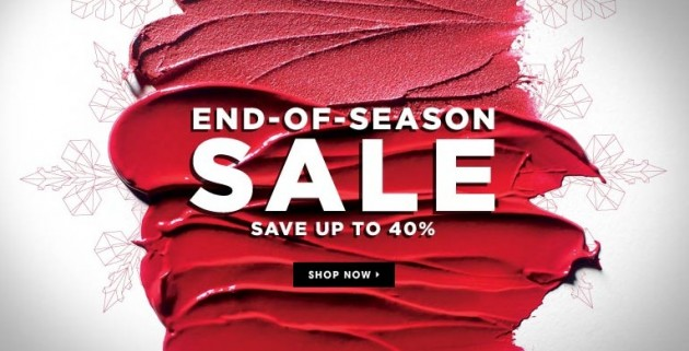 Sephora end of season sale