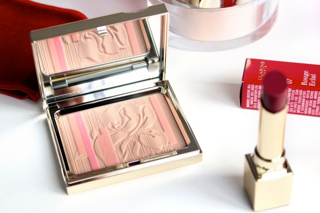 Clarins Palette Eclat - Rouge Eclat Spring 2013 face palette