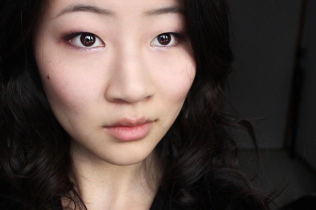 !Purple creme eyeshadow tutorial + neutral cheeks (s)