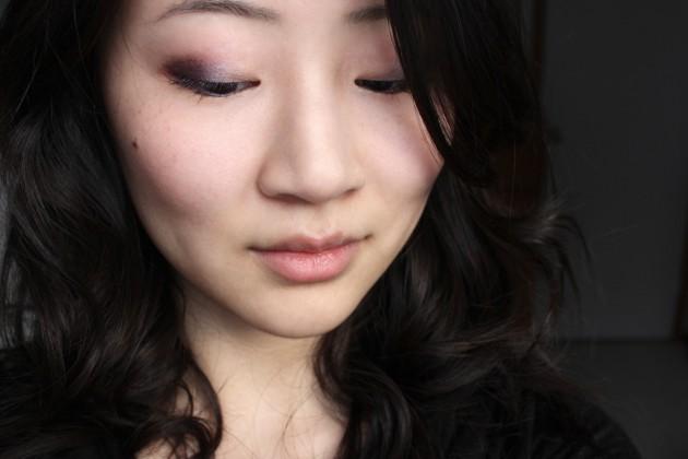 !Violet and brown eyeshadow tutorial (s)
