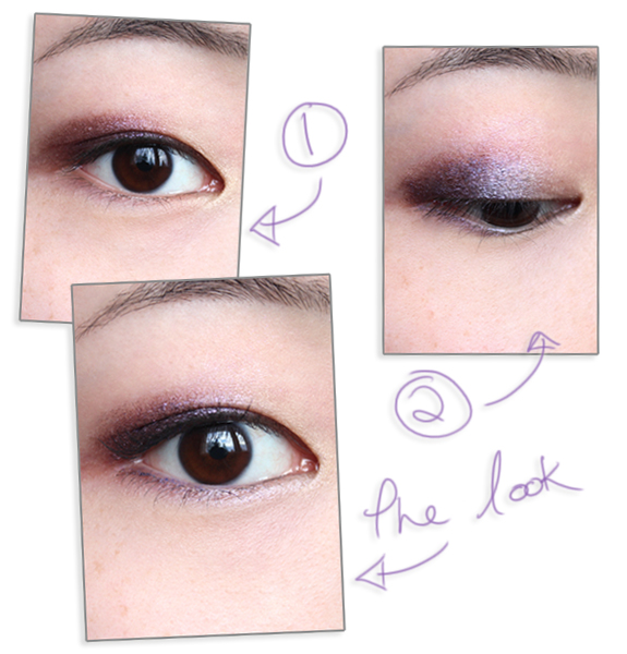 !Winter violet lids (s)