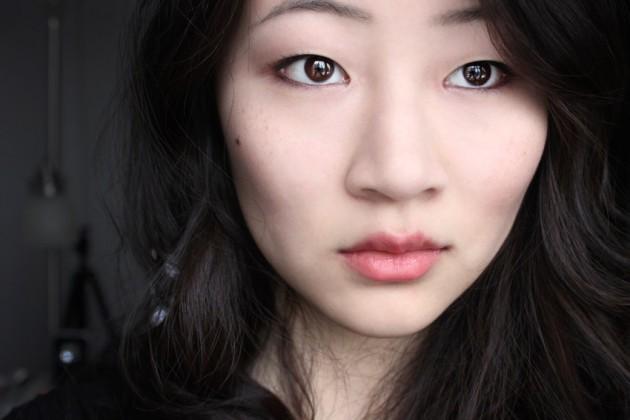 shu uemura celebrity pink rouge unlimited swatch makeup look