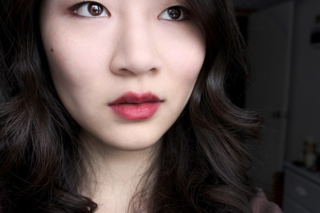 shu uemura rouge unlimited swatch luxe burgundy
