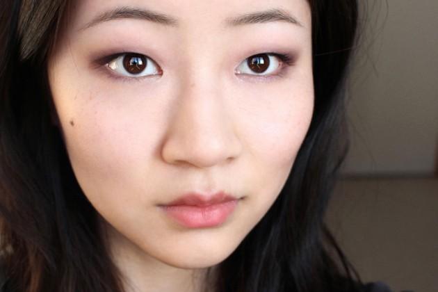 Clarins Iris Blossom makeup look