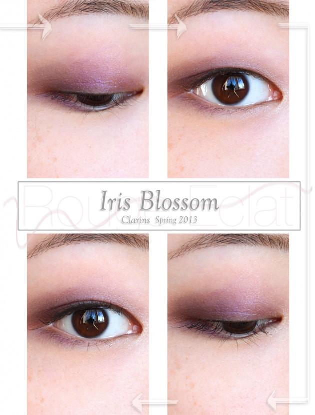 Clarins Iris Blossom spring makeup