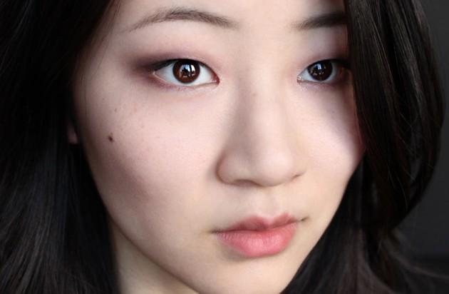 Clarins Rouge Eclat makeup look