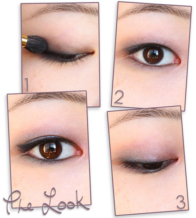 Eye tutorial - spring pastels with a twist