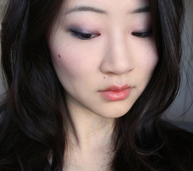 Moody pastels - YSL Spring makeup look