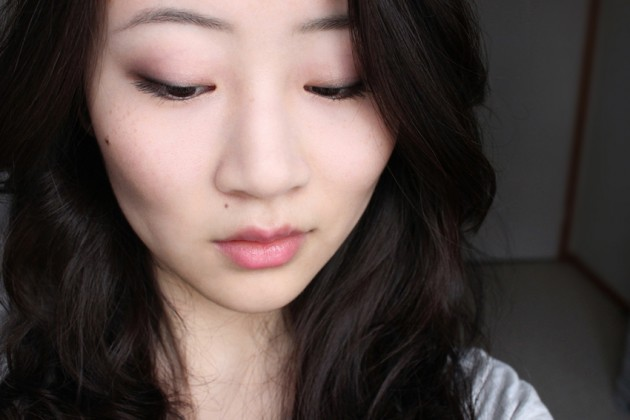 Pink lids and lips - makeup look