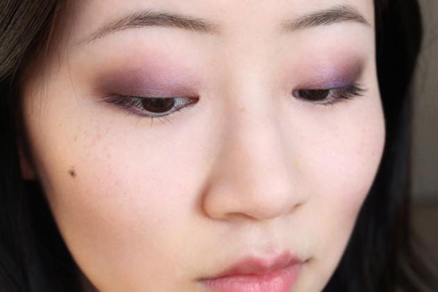 Purple Spring Clarins smokey eye