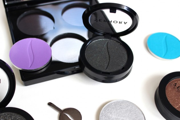 Sephora Collection Colorful Eyeshadow review, photos