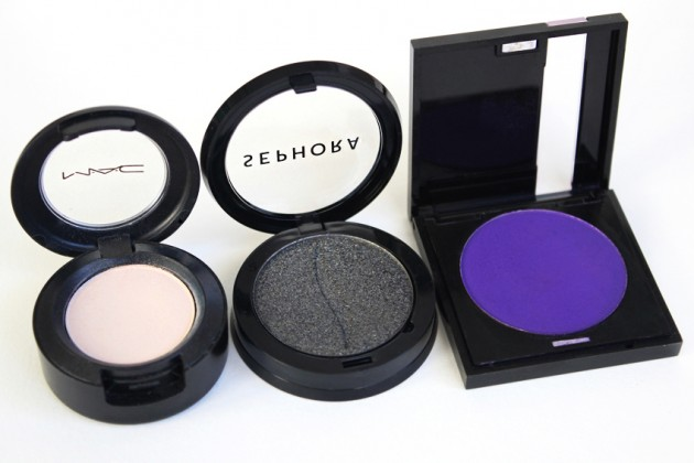 Sephora Collection Colorful Eyeshadow size comparison