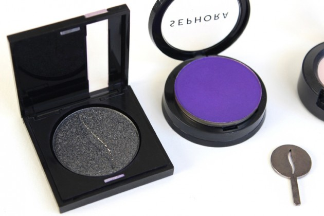 Sephora Collection Colorful vs Make Up For Ever Eyeshadow