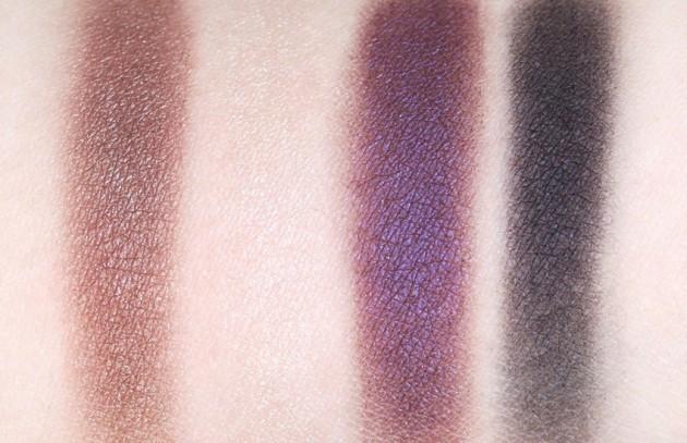 Clarins Rouge Eclat eyeshadow palette swatches