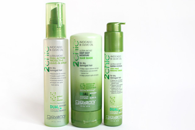 Giovanni 2chic Ultra-Moist haircare collection
