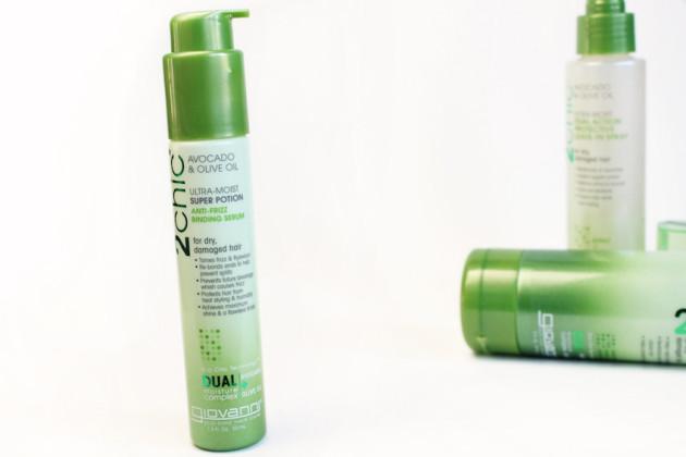 Giovanni dry hair silicone serum