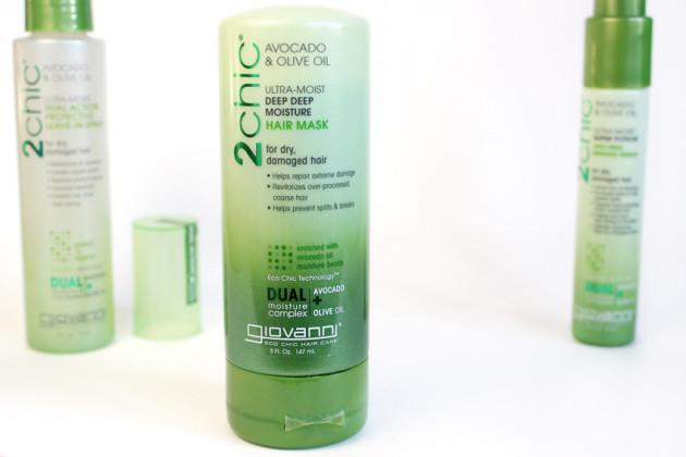 Giovanni olive oil deep moisture mask