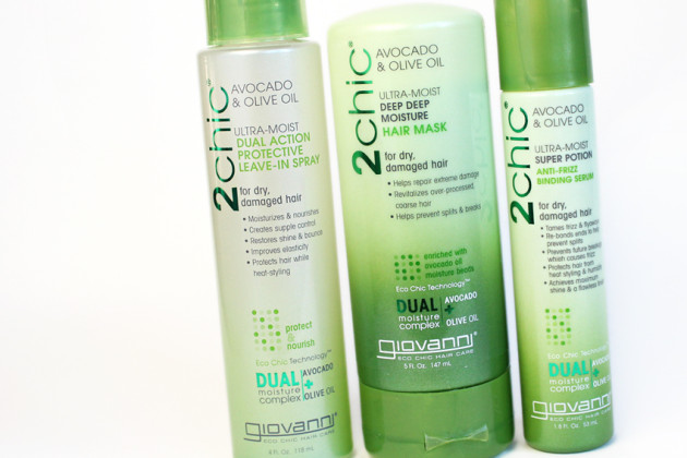 Givovanni Avocado & Olive Oil styling products
