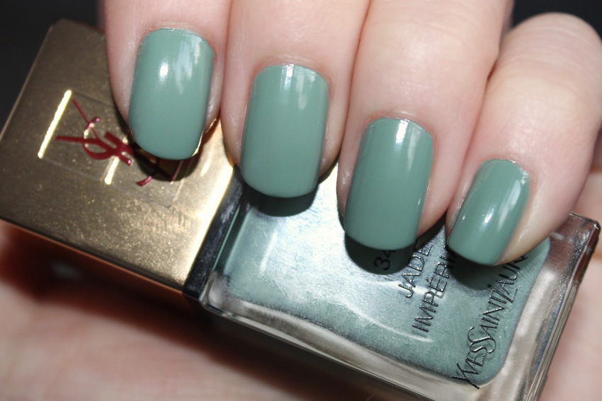 theNotice - YSL Jade Impérial La Laque Couture #34 review, photos ...