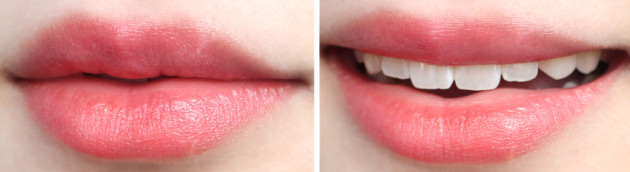 !Wearable coral lip stain - YSL + Clinique
