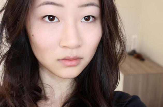 1. No makeup look (prep)