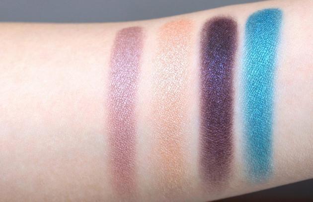 Sephora Disney Jasmine Eyeshadow Palette swatches
