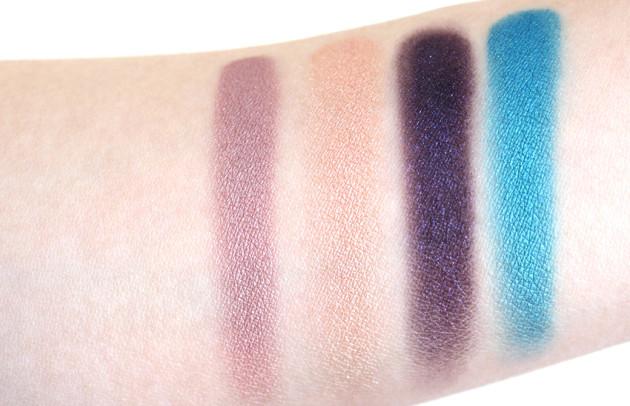 Sephora Magic Carpet Ride Eyeshadow Palette swatches