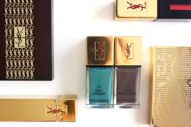 YSL S13 nail polish swatch review