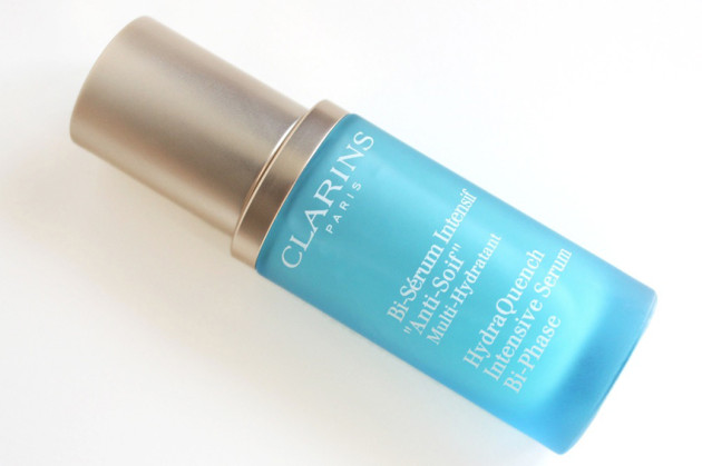 Clarins HydraQuench Serum dry skin review