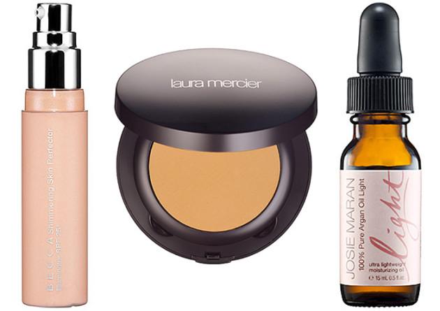 Becca Shimmering Skin Perfector deal, Josie Maran, Laura Mercier