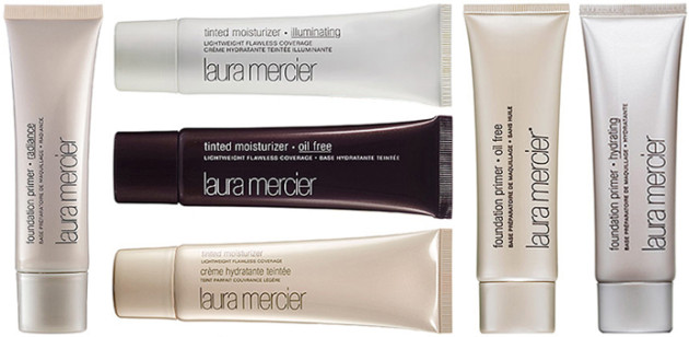 Laura Mercier tinted moisturizers, primers range