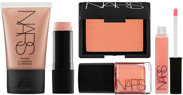 NARS Orgasm lineup launches history