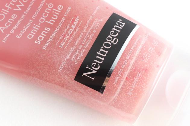 Neutrogena Pink Grapefruit Foaming Scrub review