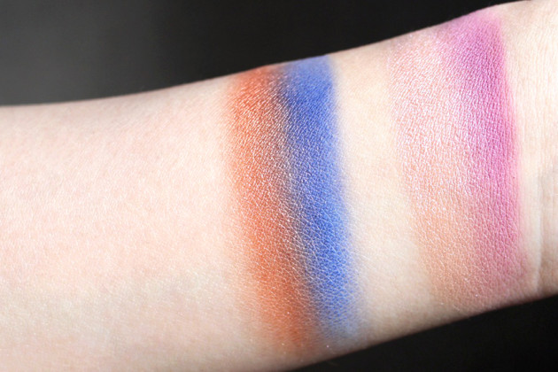 Sephora Pantone Night Fall palette swatches review