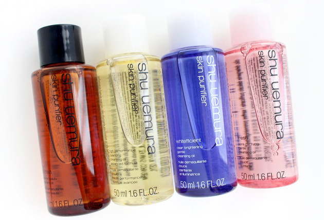 shu uemura cleansing oils comparison details review