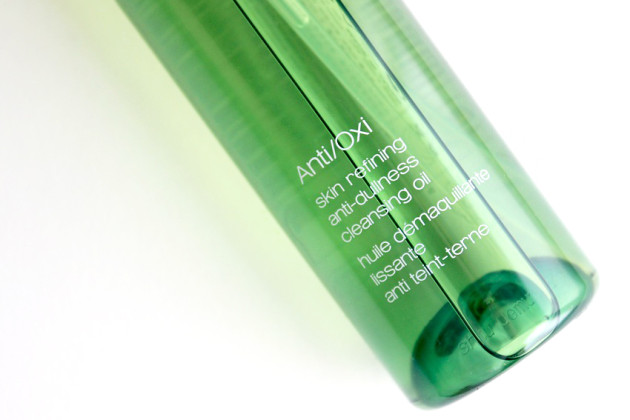 shu uemura small cleansing oil anti:oxi review