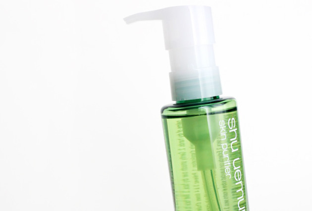 shu uemura small cleansing oil pump dispense