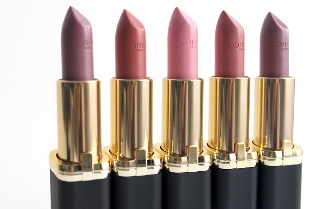 L'Oreal Colour Riche lipstick swatches review