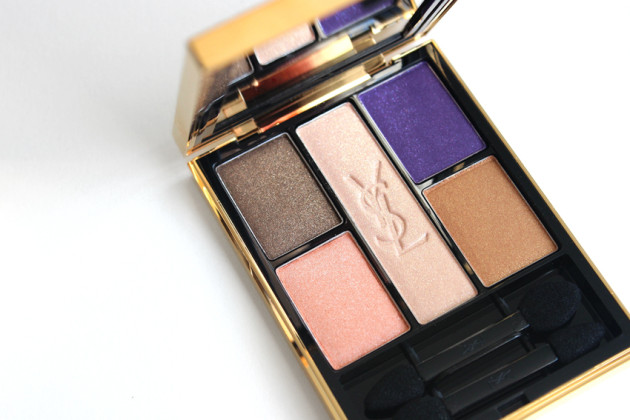 YSL Marrakesh Sunset 5 Colour Eye Shadow Palette review