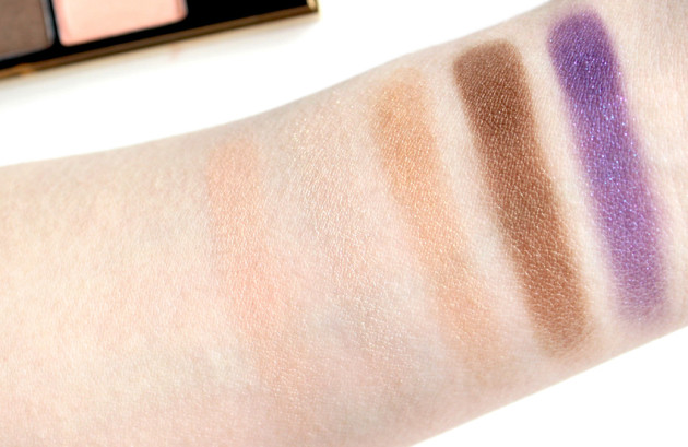 YSL Marrakesh Sunset Eyeshadow palette swatches review