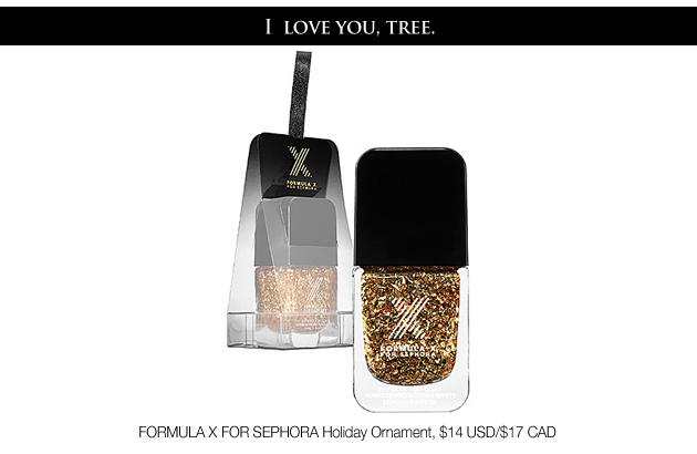 Formula X for Sephora Holiday Ornament