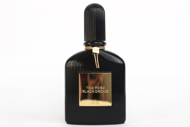 Tom Ford Black Orchid looking terribly serious