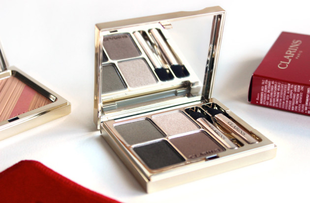 Clarins Forest Eye Quartet Mineral Palette review