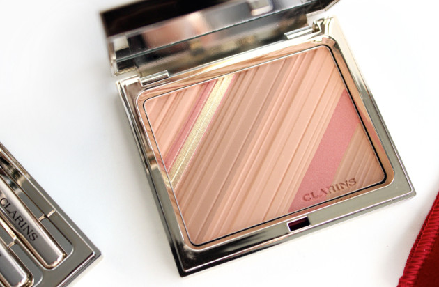Clarins powder blush review swatches photos Graphic Expression