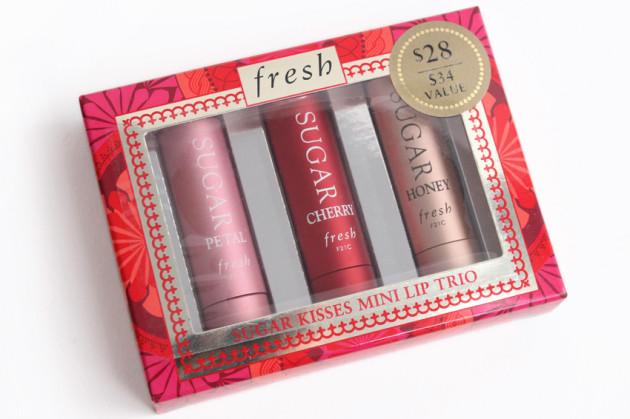Fresh Sugar Kisses Mini Lip Trio review