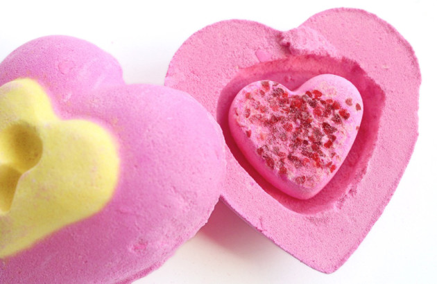 Lush Love Locket open